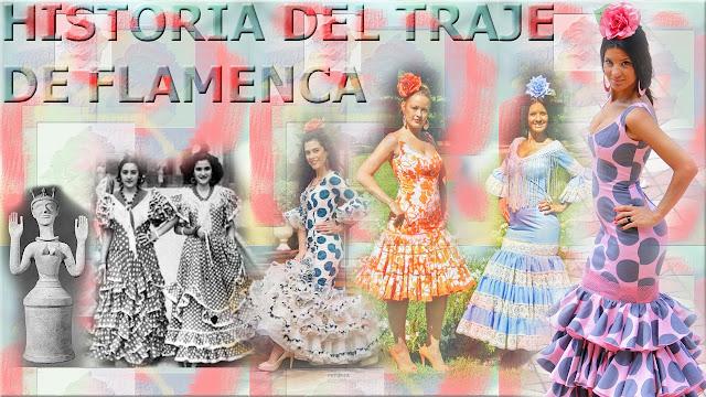 El traje de flamenca