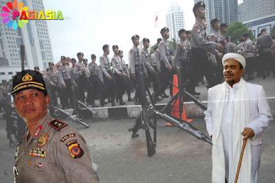 Habib Rizieq Diperiksa, Polda Jabar : Kami Telah Menyiapkan Pengamanan Ketat