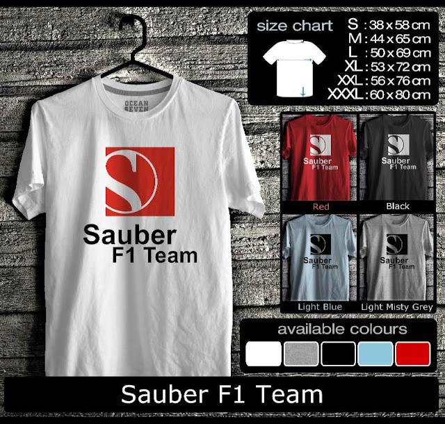 sauber f1 shop