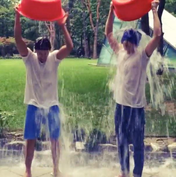 Ice Bucket Challenge - Eunhyuk and Donghae