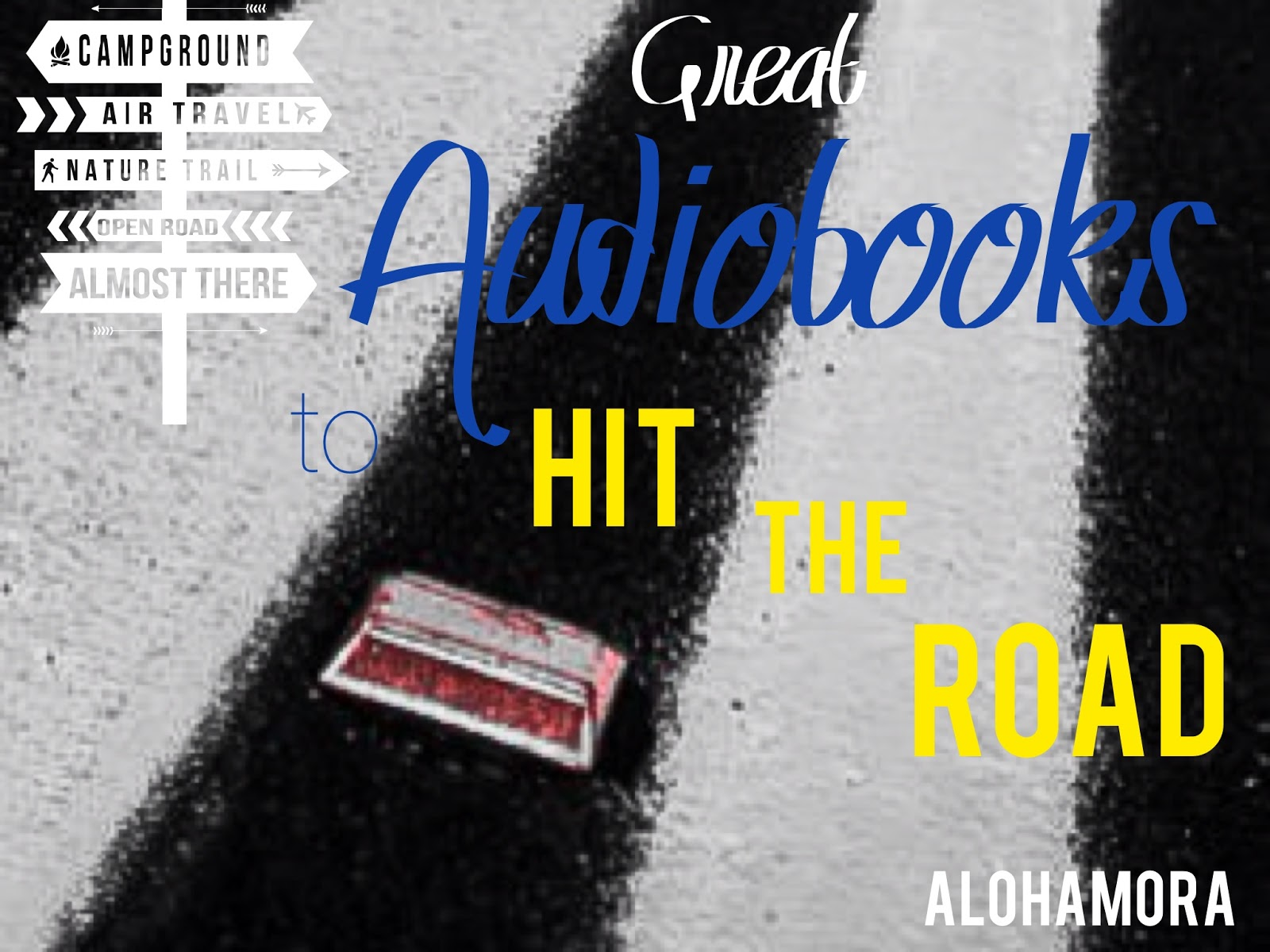 Great Audiobooks for young elementary, middle school, high school, adults, and families.   Plus a little How audiobooks can help you or your child as a reader. Alohamora Open a Book http://www.alohamoraopenabook.blogspot.com/