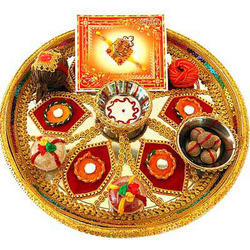 Raksha Bandhan Thali Decoration Ideas puja samagri 2016