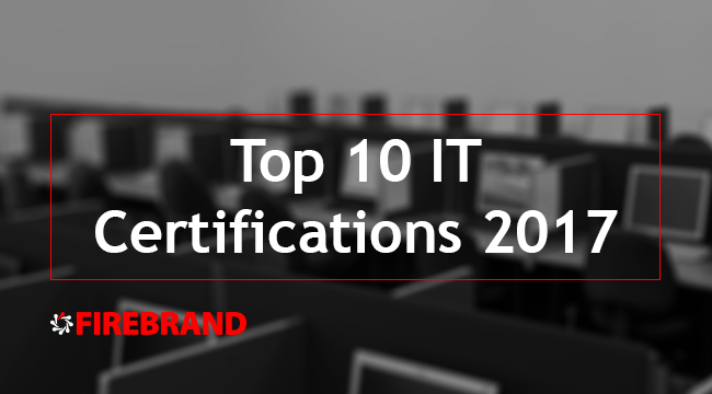 Top 10 IT Certifications 2017
