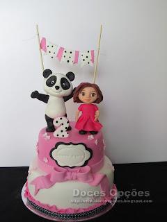 O Panda no 2º aniversário da Diana Filipa