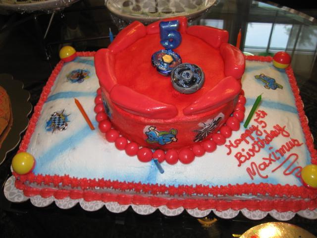 Cakoration Beyblade Cake