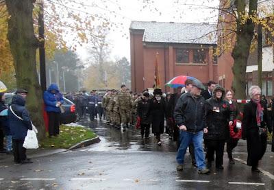 Remembrance Sunday  in Brigg - November 2018