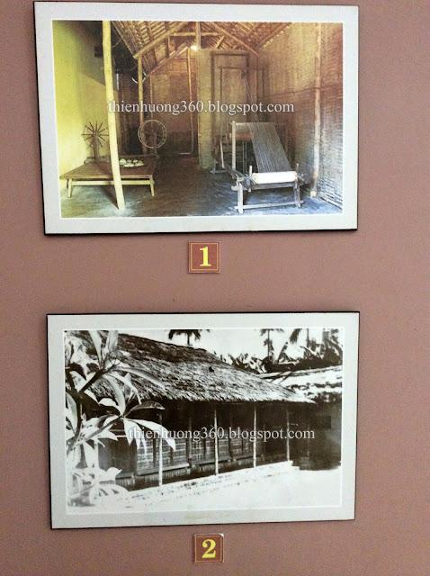 Góc dệt vải của cụ bà Hoàng Thị Loan Thừa Thiên Huế