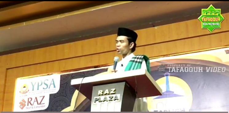 Mantap, UIN Suska Tegaskan Kredibilitas Ustadz Abdul Somad