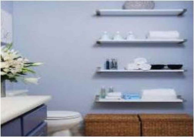 Ideas For Decorating Bathroom Shelves DB Up18