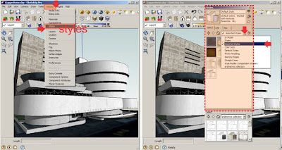 tutorial style sketchup