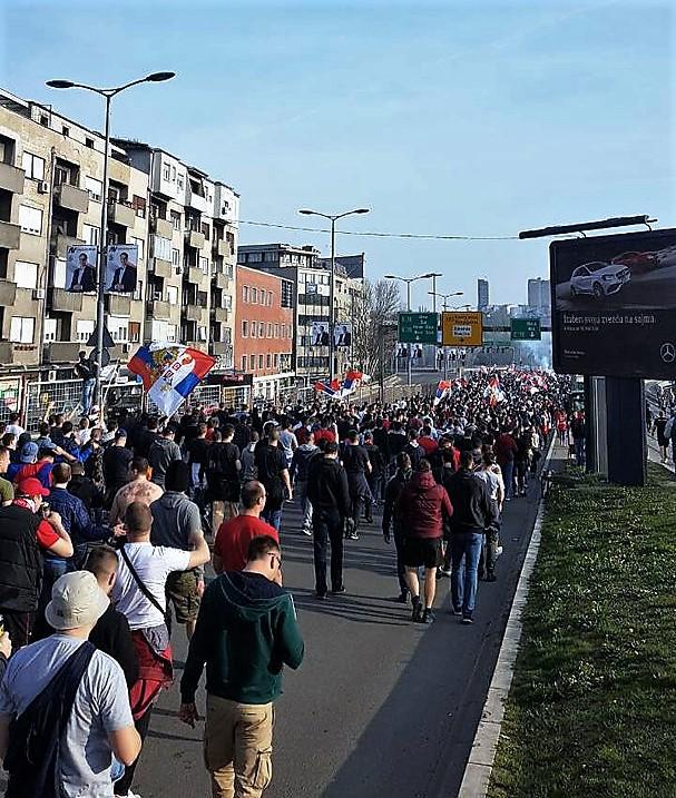 Сербия в моей душе. Товарищеский матч «Црвены Звезды» и «Спартака» (Фото)