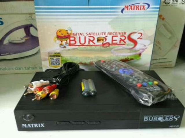 Cara Masukan Bisskey Matrix Burger S2 HD PVR