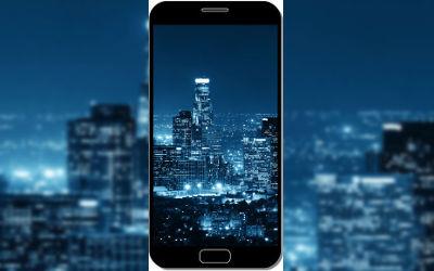 Los Angeles Bleu Nuit - Fond d'Écran en QHD pour Mobile
