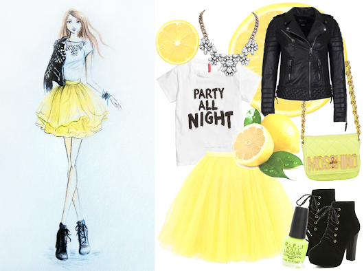 Lemonade Dreams / Outfit Inspiration & Illustration