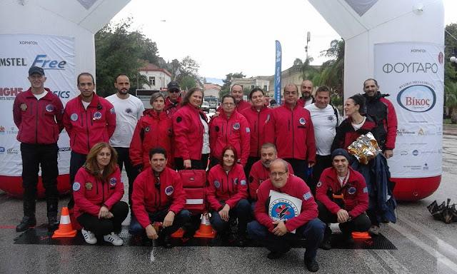 Σημαντική η βοήθεια της Ελληνικής Ομάδας Διάσωσης Παράρτημα Αργολίδας στον 2ο Παλαμήδειο Άθλο