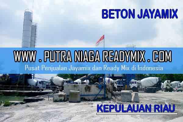 Harga Beton Jayamix Kepulauan Riau