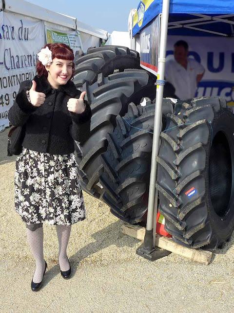 gros pneus