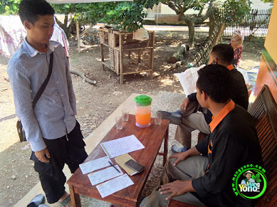 Indah Cargo saat pic up benih padi ke Warung MANGYONOcom