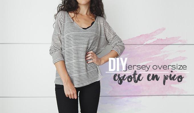 diy-jersey-oversize-escote-en-pico