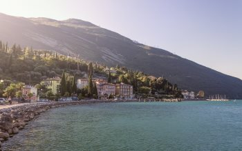 Wallpaper: On the Nago-Torbole coast