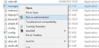 buka file manager kitserver 13