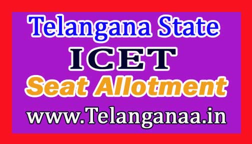 Telangana TS ICET 1st Seat Allotment Order 2017 Download