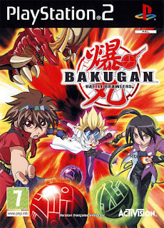 Bakugan Battle Brawlers PAL PS2