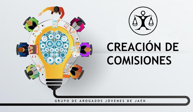 Constitución de comisiones del GAJ Jaén