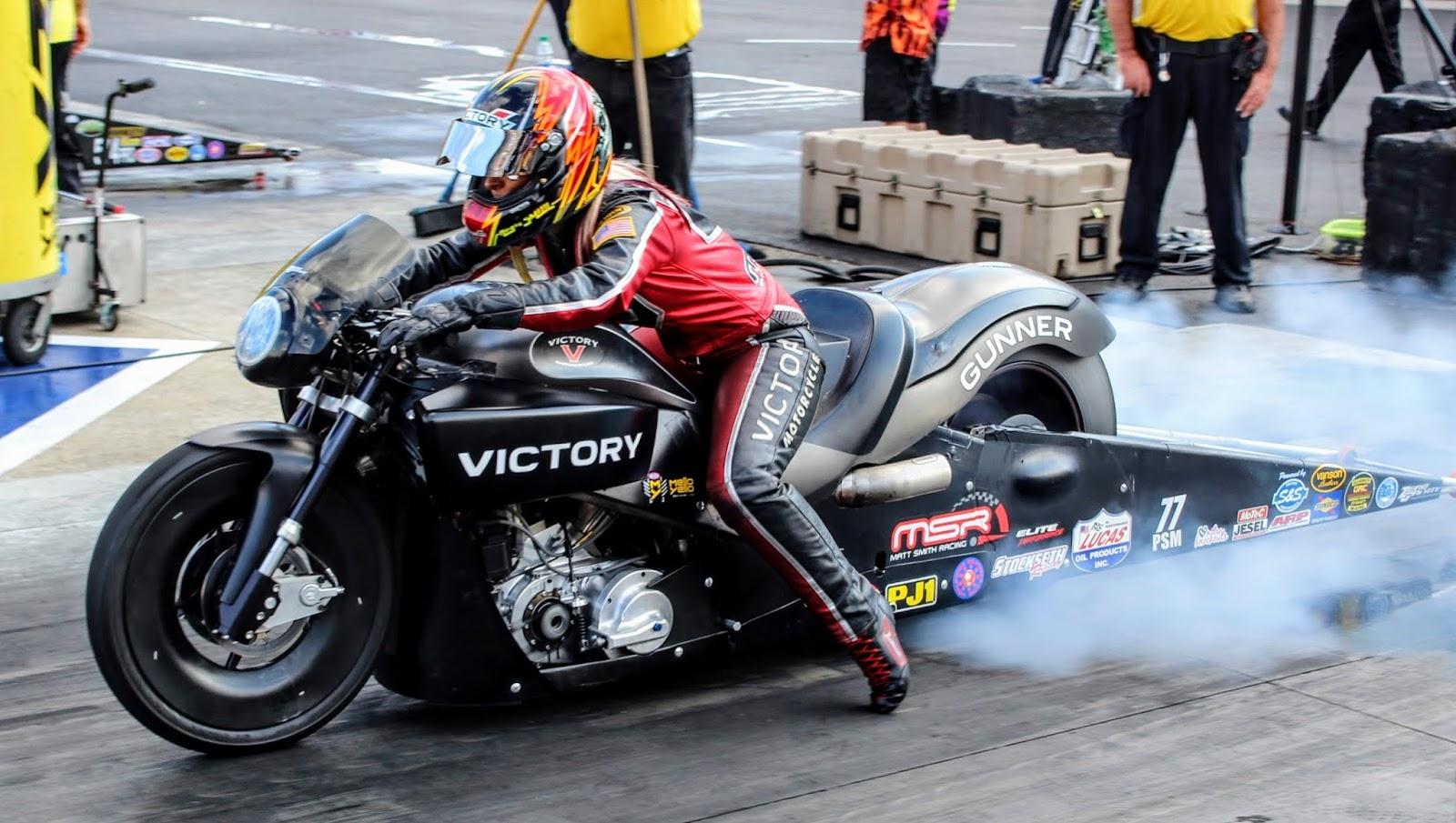 Victory's Angie Smith thrilled with qualifying effort in Las