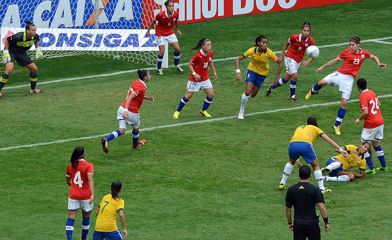 Brasil y Chile en Torneio Internacional de Brasília 2013, 22 de diciembre