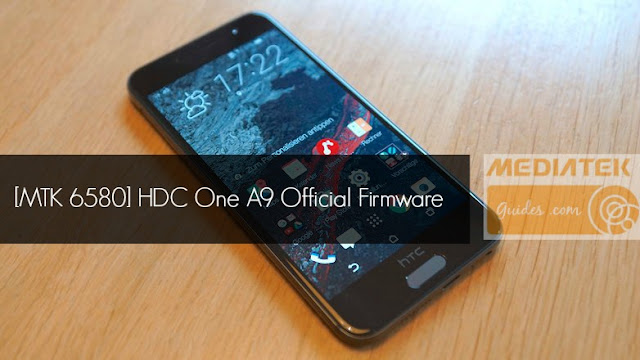 [MT6580] HDC One A9 Official Firmware