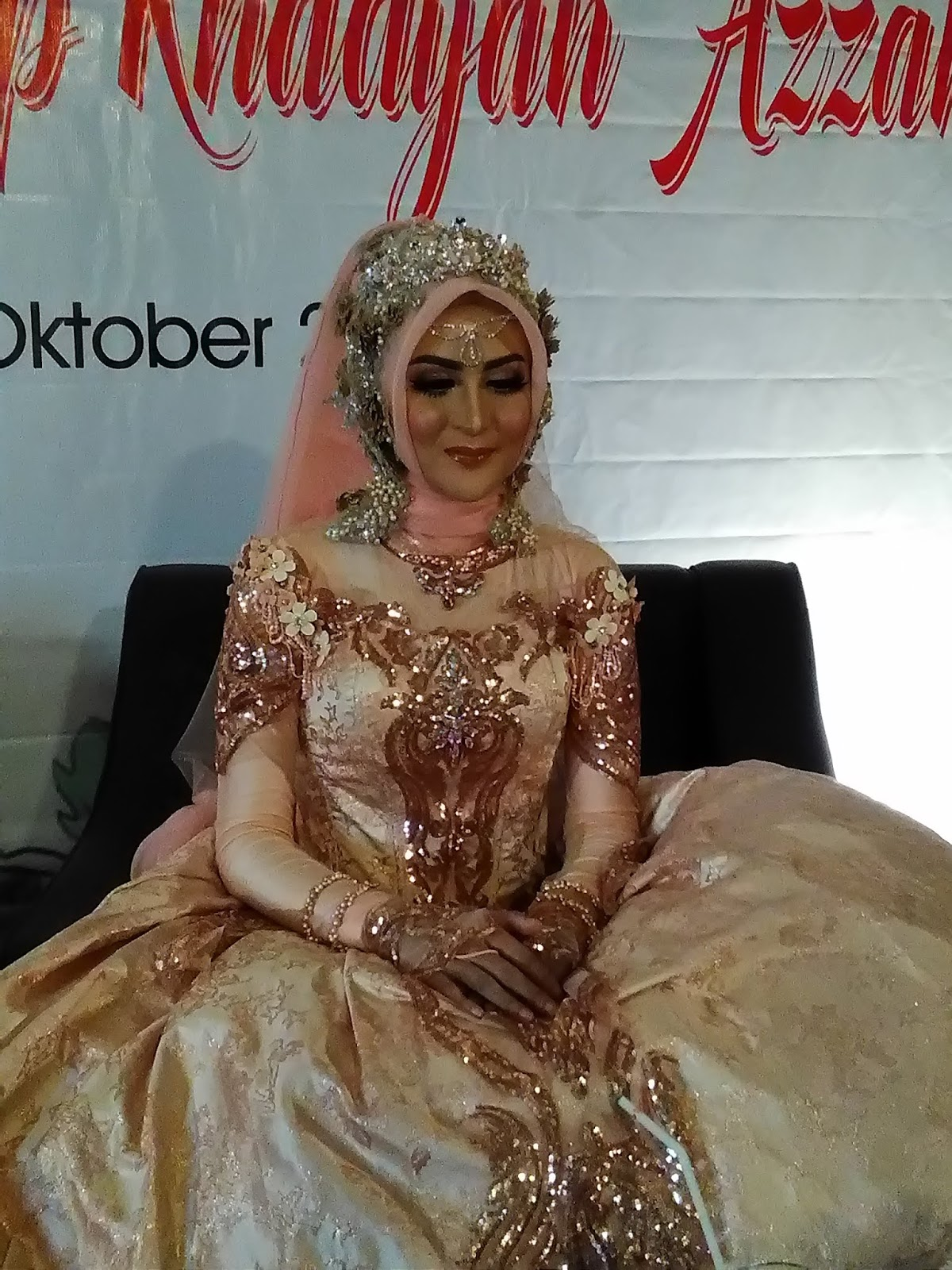 make up barbie look khadijah azzahra