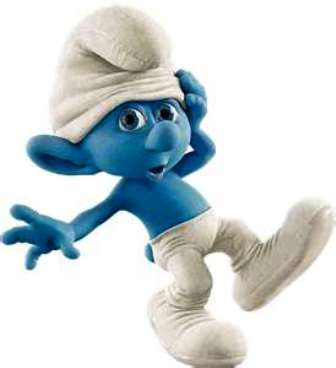 Sweethings on Earth: Smurfs: Magnified