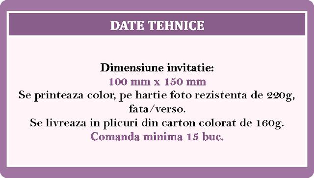 Invitatii Nunta Duble