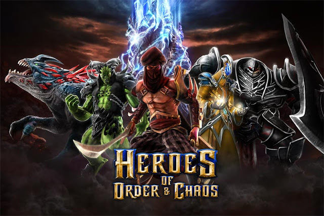 Heroes of Order & Chaos v2.2.0j MOD APK+DATA
