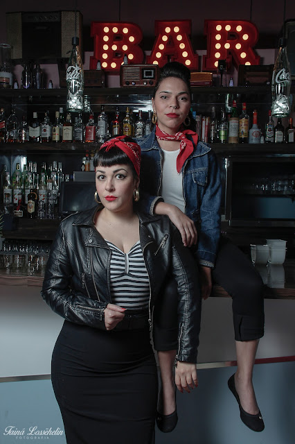 Brazilian pinup girls and owners of universo retro Mirella Fonzar and Dasie Alves talk about their experiences being pinup girls,
