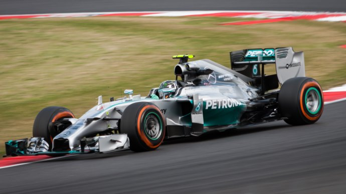 Wallpaper: Mercedes Formula 1 F1 on Silverstone