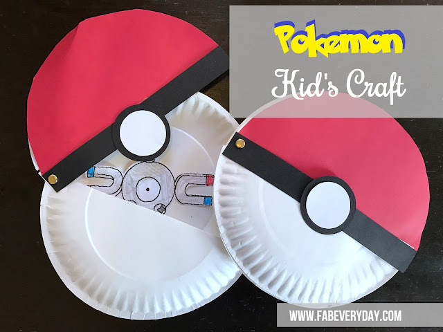 Fab everyday because everyday life should be fabulous for Pokemon crafts for kids