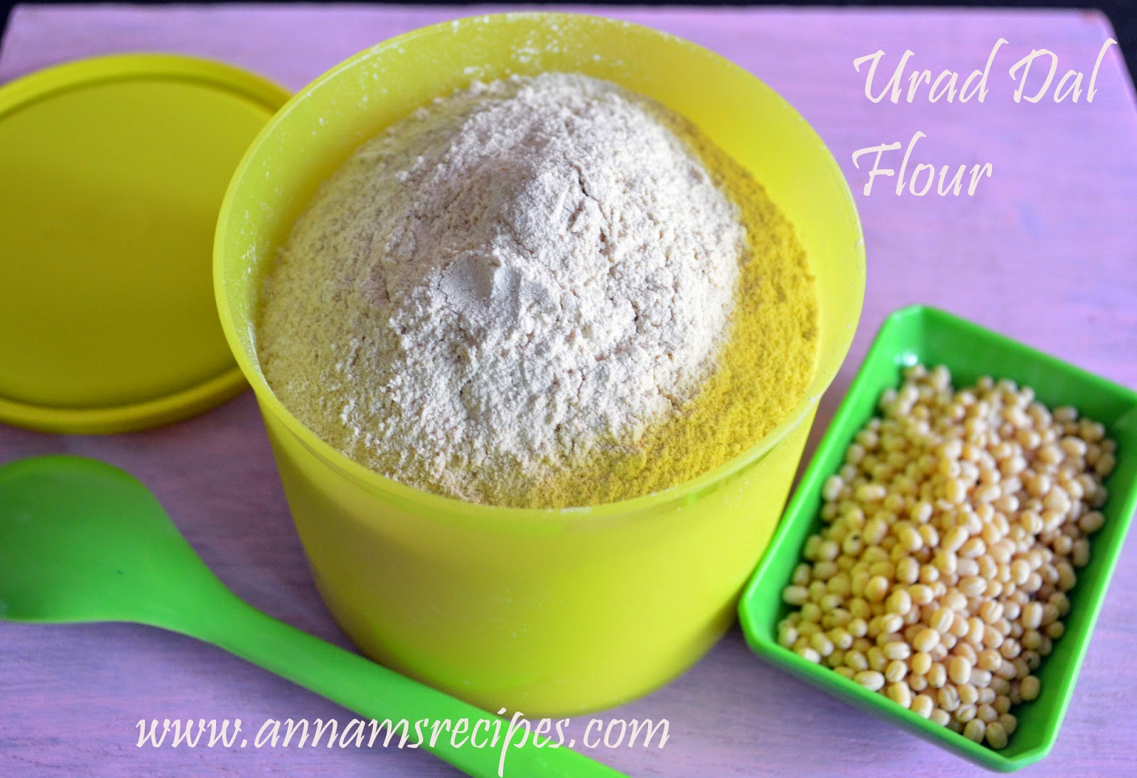 Home Made Urad Dal Flour