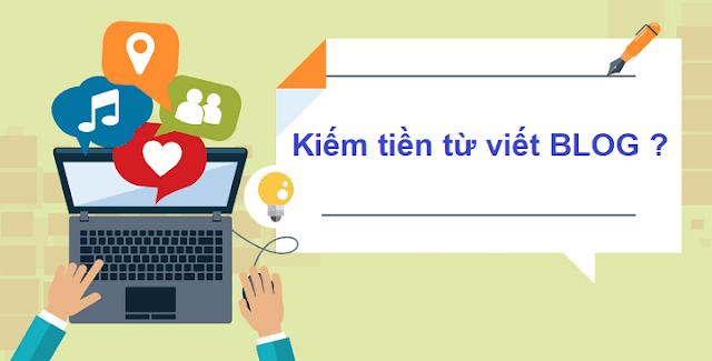 Hướng dẫn cách viết blog kiếm tiền online mới nhất 2019