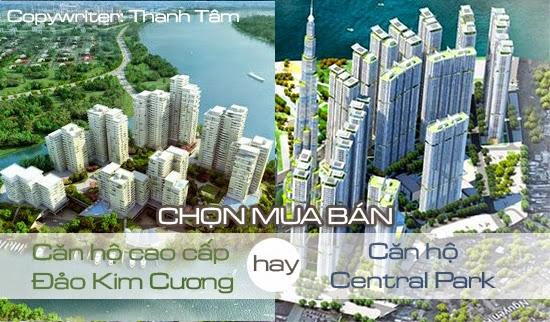 mua ban can ho cao cap Dao Kim Cuong hay can ho Central Park Vinhomes