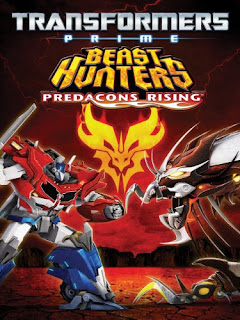 Transformers Prime Beast Hunters: Predacons Rising (2013) Hindi Dual Audio BRRip [250MB]