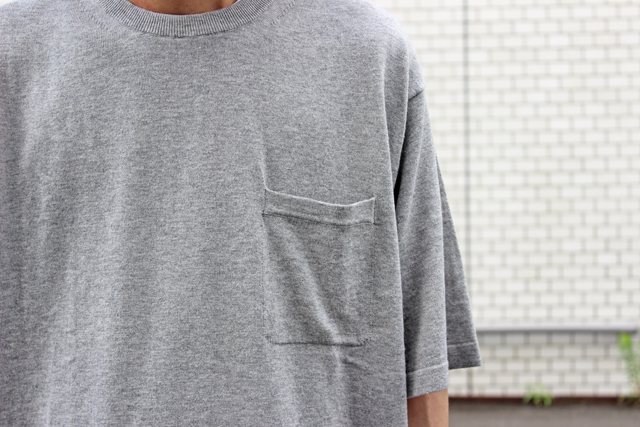 クレプスキュールのニットTシャツ