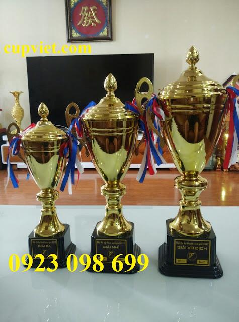 www.123nhanh.com: sản xuất cúp vinh danh, làm cúp thể thao, cung cấp cúp