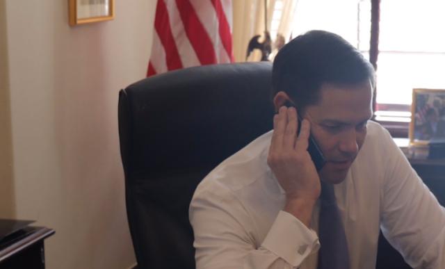 «EEUU apoyará al pueblo venezolano», lo que se sabe de la llamada entre Marco Rubio y Juan Guaidó