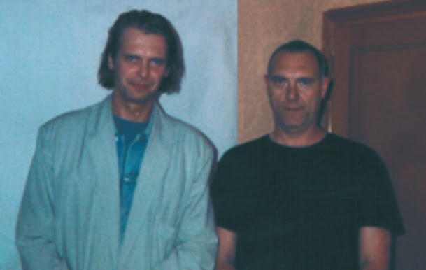 Klaus Guingand & Sandro Chia - 1995 © Muriel Bonel