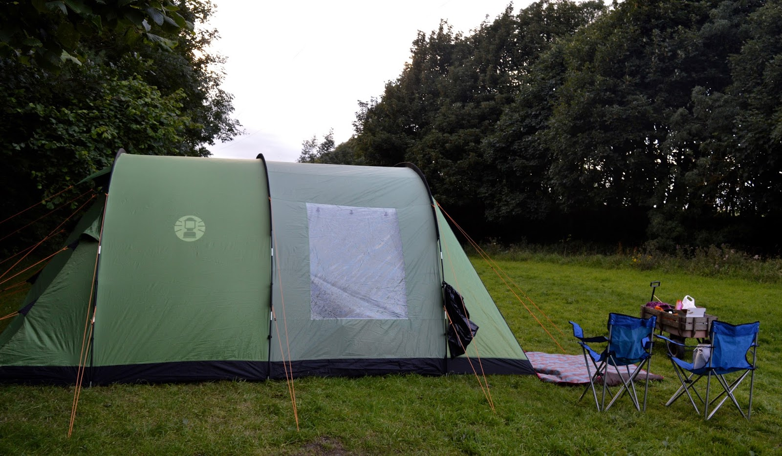 Coleman Cabral 5 Family Tent With Black Out Bedrooms A