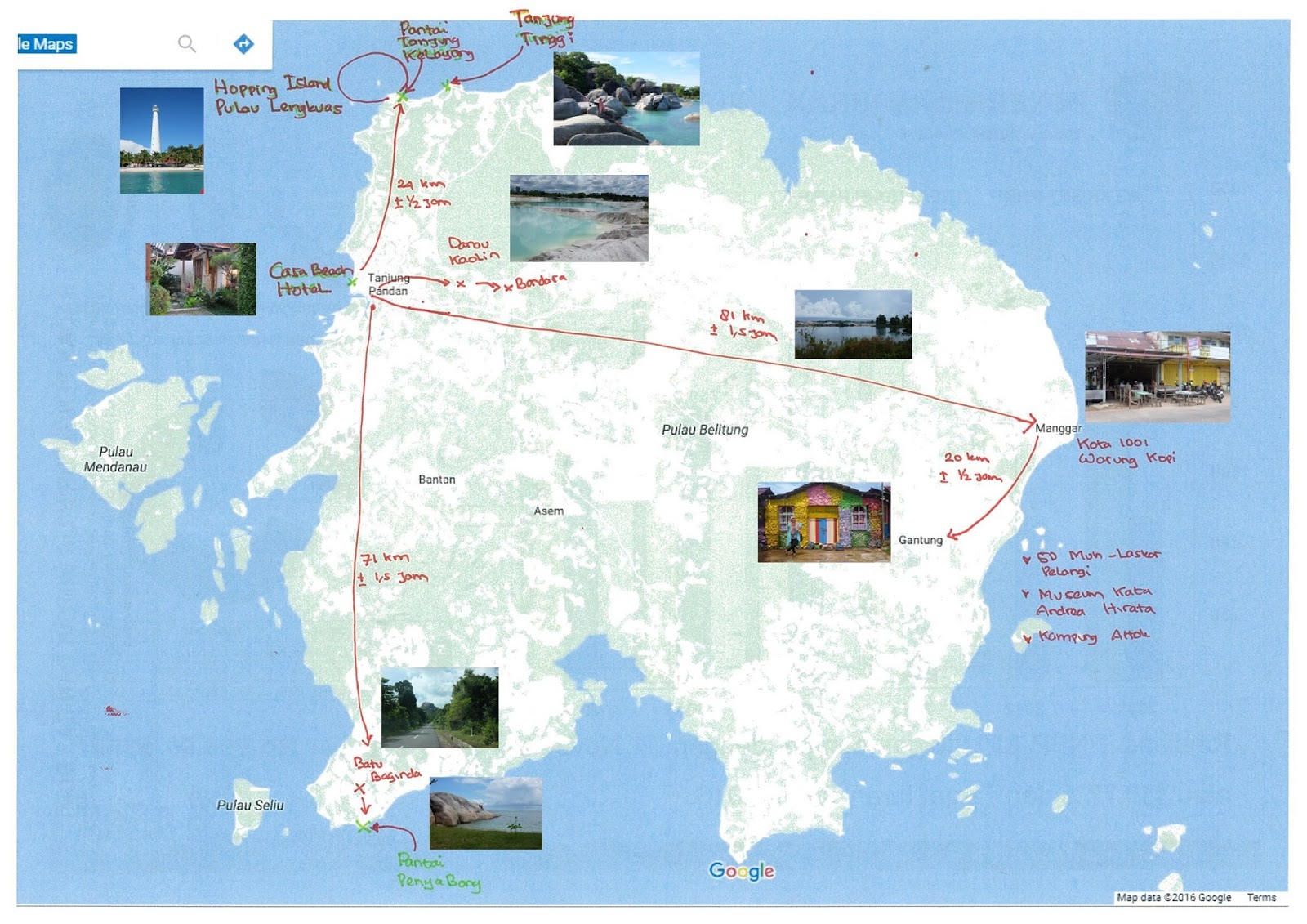 My Adventure: Belitung - Family Trip Jilid 2 (Itinerary ...