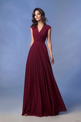 Más De 80 Vestidos De Color Vino Ideas Originales De Como