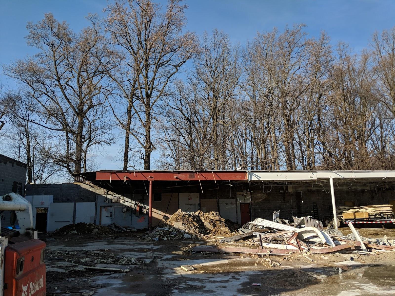 Robert Dyer Bethesda Row Demolition update Vince & Dominic s